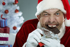Crazy sweet tooth Stock Images