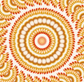 Crazy Swirling Pattern Stock Image