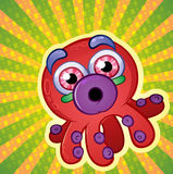 Crazy Techno Octopus Stock Image