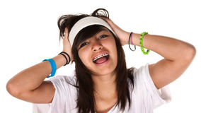 Crazy Teen Stock Photography