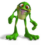 Crazy Toad Royalty Free Stock Image