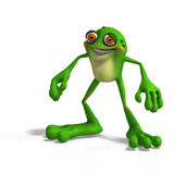 Crazy Toad Stock Photo