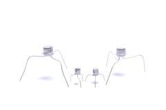 Crazy transistors Royalty Free Stock Image