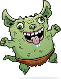 Crazy Ugly Gremlin Royalty Free Stock Image