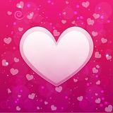 Crazy valentine background Stock Images