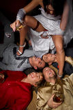 Crazy wedding Stock Image