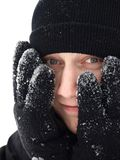 Crazy winter stock images