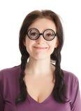 Crazy woman Stock Photos