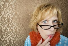 Crazy Woman Stock Photo