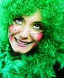 Crazy woman Royalty Free Stock Photo