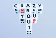 Crazy about you ! Stock Photo