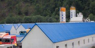 CRBC-kamp in Montenegro Stock Fotografie
