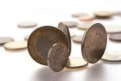 Círculo da moeda Fotografia de Stock Royalty Free