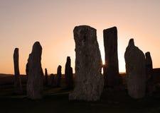 Círculo de pedra Foto de Stock