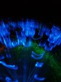Círculos das luzes Fotografia de Stock