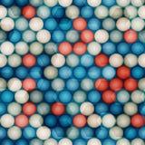 Círculos de vidro sem emenda Fotos de Stock Royalty Free