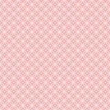 Círculos que se enclavijan del modelo rosado con los corazones Fotos de archivo libres de regalías
