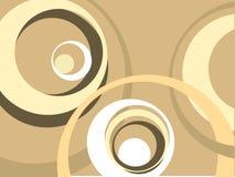 Círculos retros Fotos de Stock