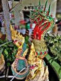Crea del budista para el agente de la serpiente de la adoración de Buda Fotografía de archivo