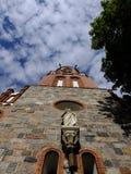 Crea en el cielo, iglesia Fotos de archivo