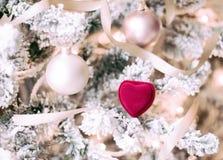 Crea en los milagros de la Navidad - regalo de vacaciones para ella fotos de archivo