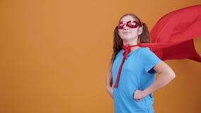 Crea en sus sueños, sea un super héroe para ésos en necesidad almacen de video