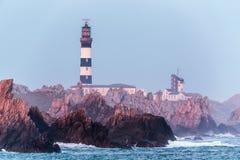 Creach lighthouse Royalty Free Stock Photos