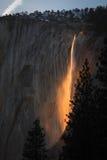 Creación de la naturaleza el Firefall Fotografía de archivo libre de regalías