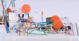 Creación de un prototipo electrónica Foto de archivo libre de regalías