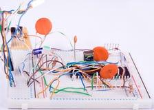 Creación de un prototipo electrónica Fotografía de archivo libre de regalías