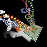 Creación de una vida artificial. Imagen de archivo libre de regalías