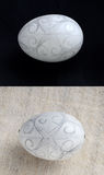 Creación del huevo de Pascua Imagen de archivo libre de regalías