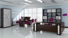 Creación del interior de la oficina