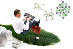 Creación de productos médicos innovadores Imagen de archivo libre de regalías