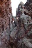 Creaciones de la piedra caliza Foto de archivo libre de regalías