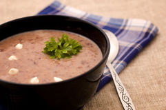 Creae soup Royalty Free Stock Photography
