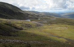 Creag Meagaidh National Nature Reserve Stock Photos