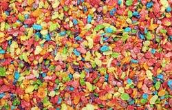 Creals d'éclaille givrés par riz Photo stock