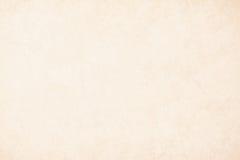 Cream бумага предпосылки в бежевом винтажном цвете, пергаментная бумага текстуры, абстрактный пастельный градиент золота с коричн стоковое изображение