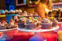 Cream булочки цвета стоковые фотографии rf