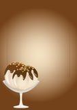 cream вектор sundae льда Стоковое фото RF