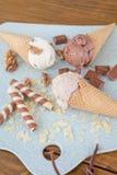cream ветроуловители льда Стоковые Изображения