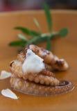 Cream восьминог стоковые фотографии rf