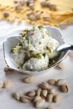 cream домодельный льдед Стоковая Фотография