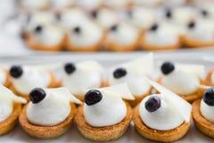 Cream десерт Стоковые Изображения RF