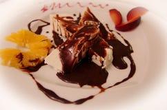 Cream карамелька Стоковое Изображение