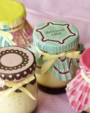 Cream карамелька Стоковые Фото