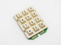 Cream кнопочная панель цвета, запасная часть Стоковое фото RF
