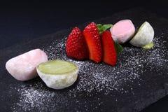 cream клубники льда Стоковое Изображение RF