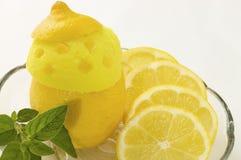 cream лимон льда Стоковые Изображения